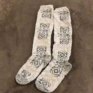 Other - Woman's grey/blue/tan boot socks